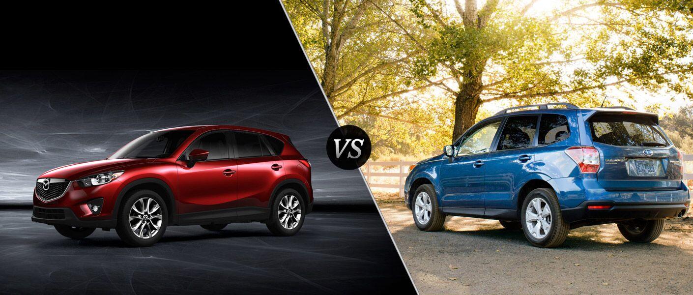 2015 Mazda CX-5 vs 2015 Subaru Forester