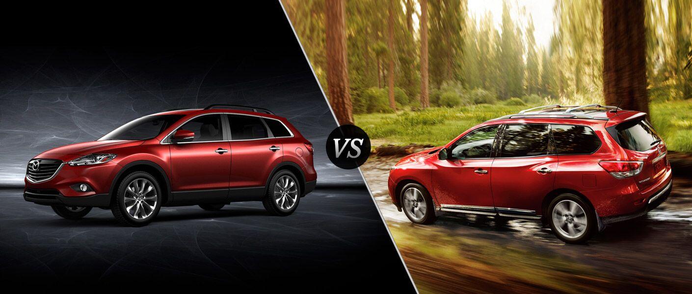 2015 Mazda CX-9 vs. 2015 Nissan Pathfinder