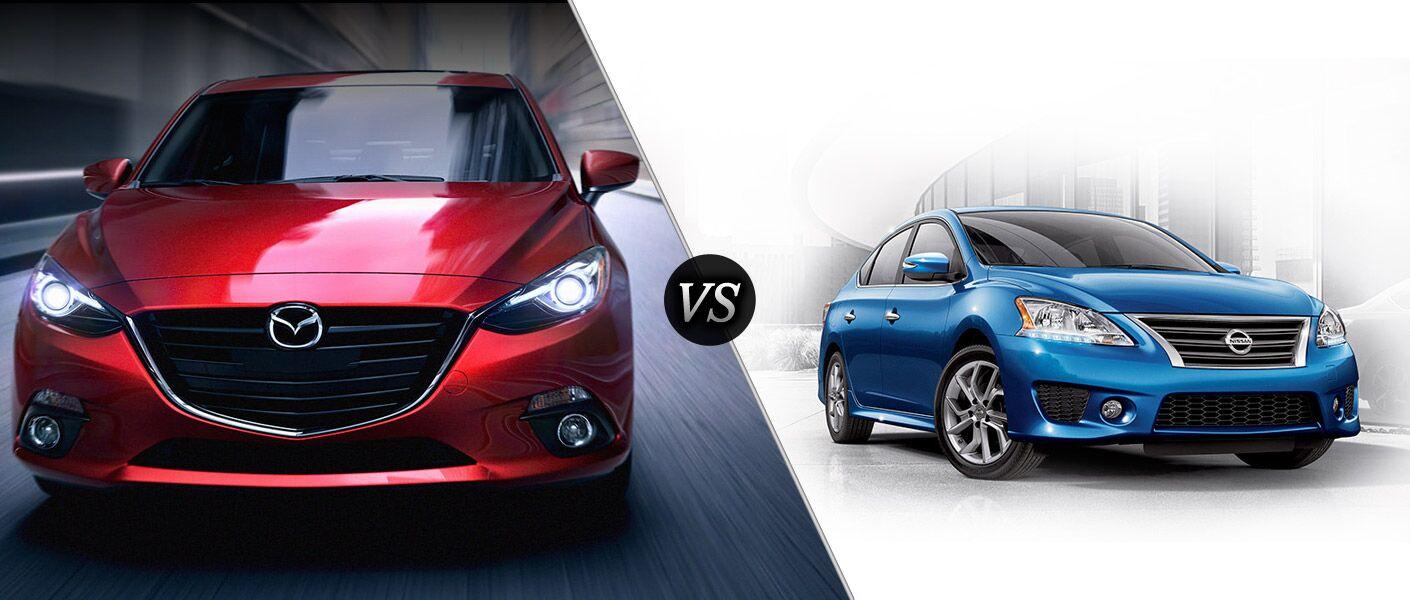 2015 Mazda 3 vs. 2015 Nissan Sentra