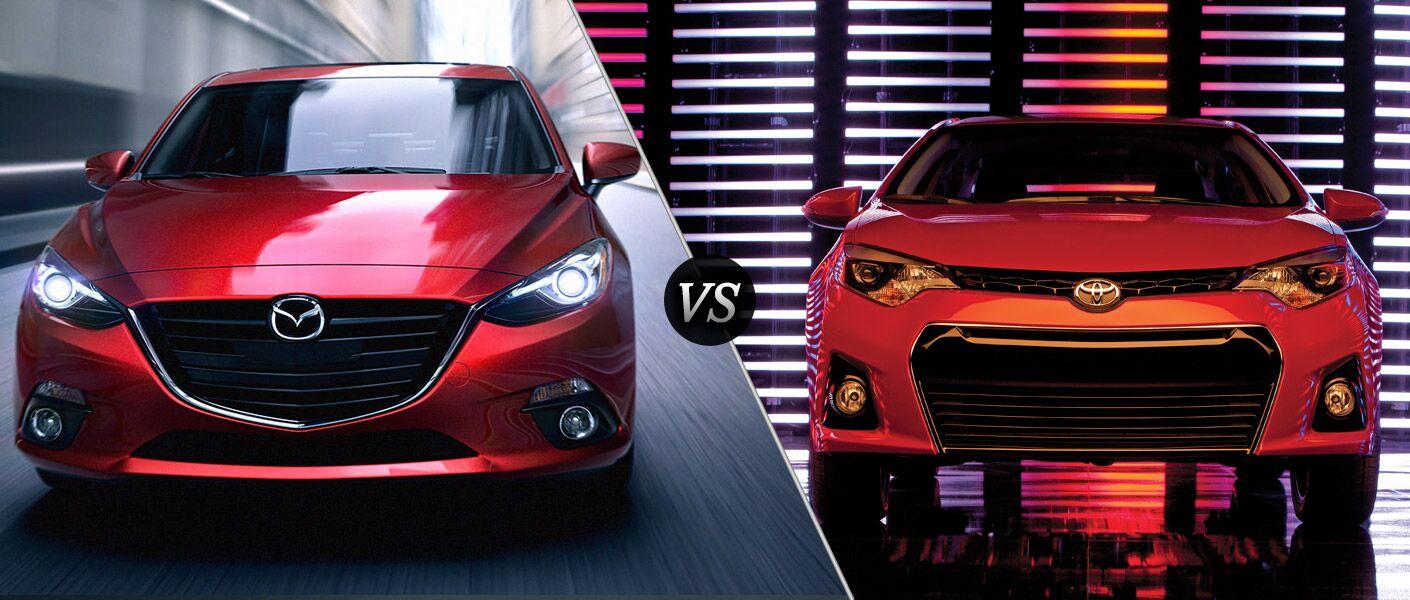 2015 Mazda 3 vs. 2015 Toyota Corolla