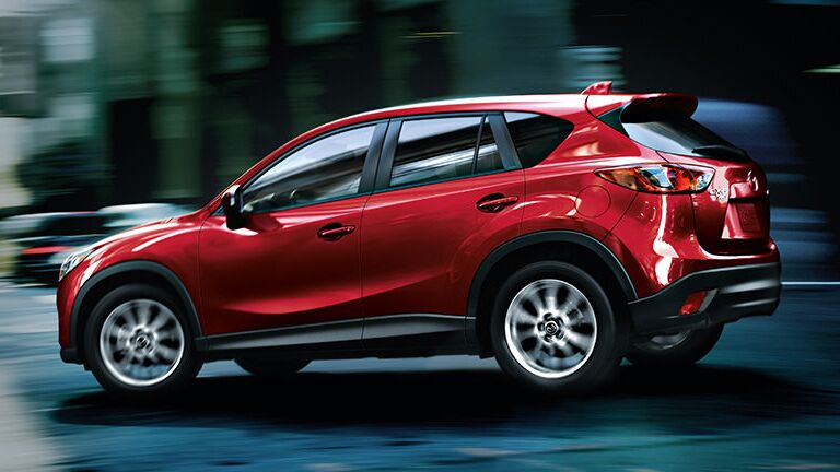 2015 Mazda CX-5 Exterior Red Side