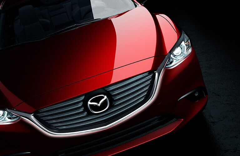 2016 Mazad 6 exterior front grille