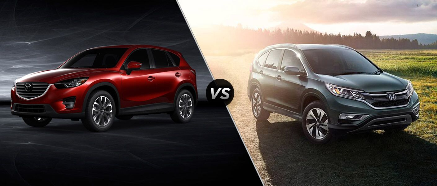 2016 Mazda CX-5 and 2016 Honda CR-V Comparison