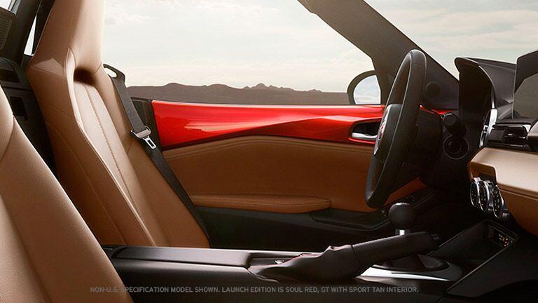 2016 Mazda Miata interior seating