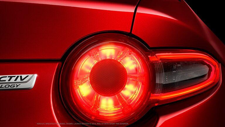 2016 Mazda Miata rear tailights brakelights