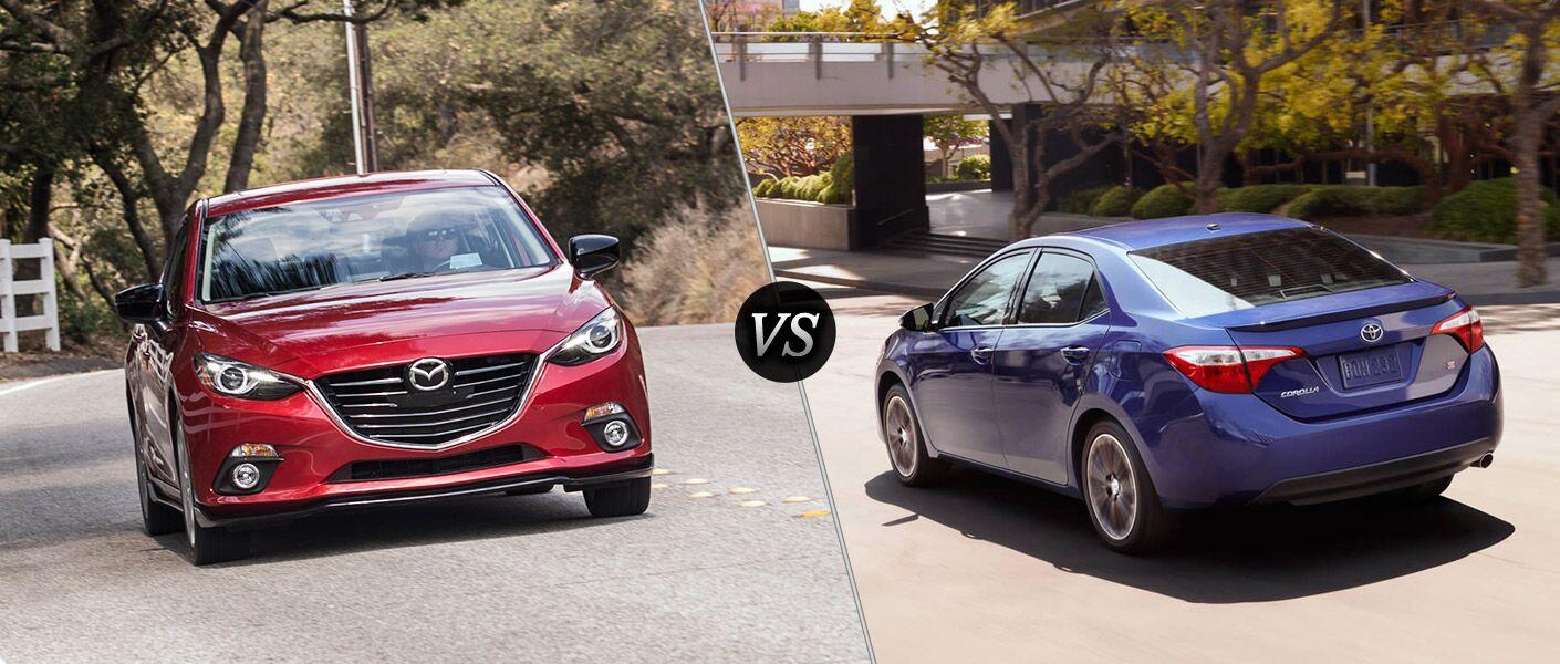 2016 Mazda 3 vs 2016 Toyota Corolla