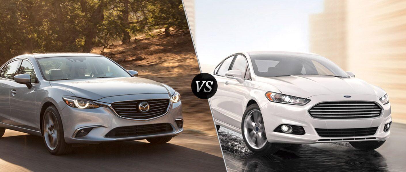 2016 Mazda 6 vs 2016 Ford Fusion