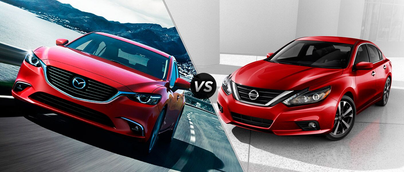 2016 Mazda6 vs 2016 Nissan Altima