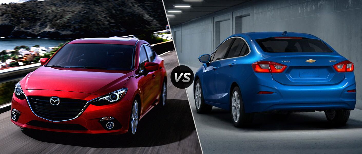 2016 Mazda3 vs Chevy Cruze