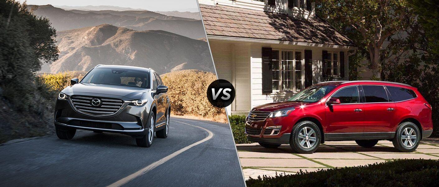 2016 Mazda CX-9 vs 2016 Chevy Traverse