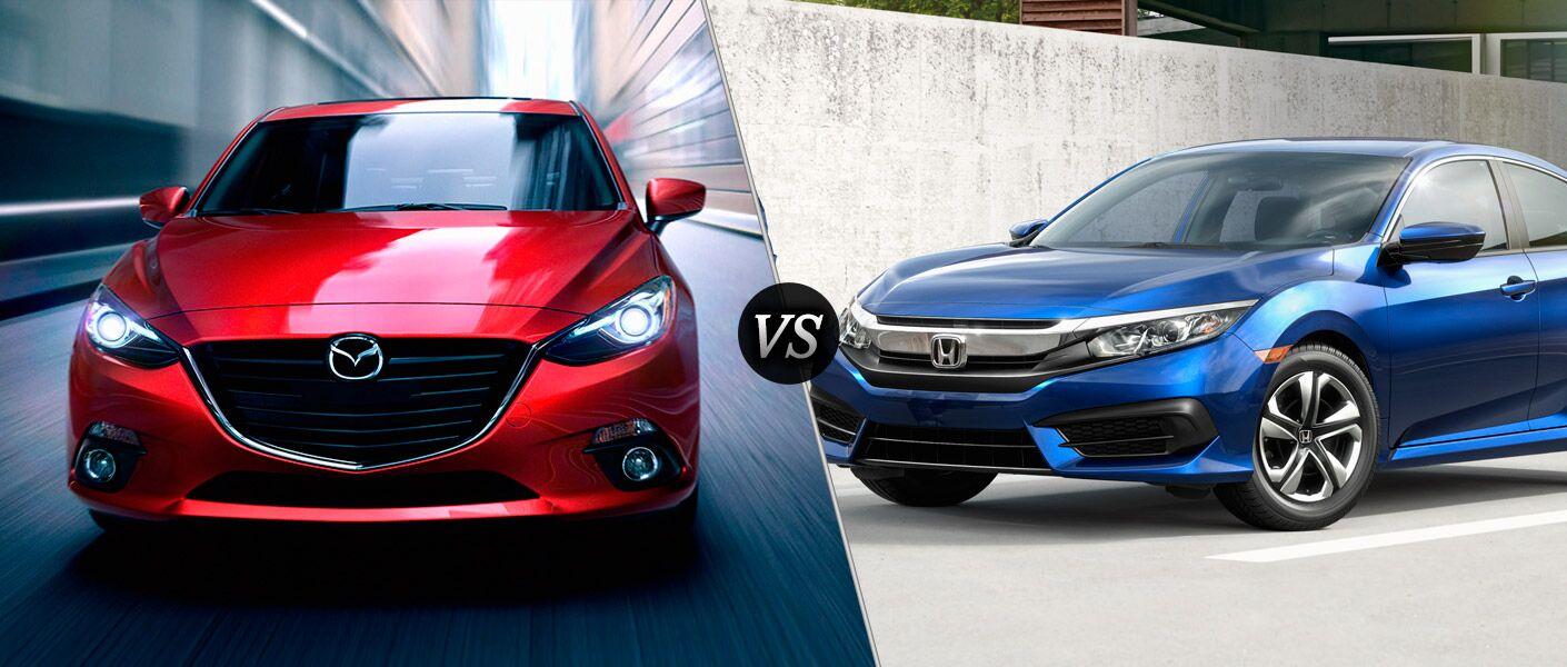 2016 Mazda3 vs 2016 Honda Civic
