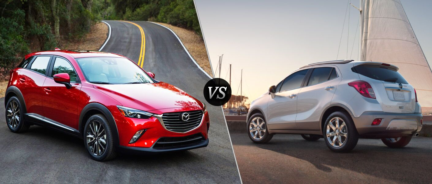 2016 Mazda CX-3 vs. 2015 Buick Encore