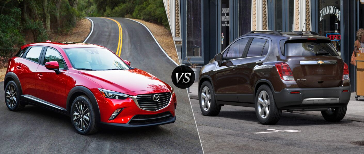 2016 Mazda CX-3 vs. 2016 Chevy Trax