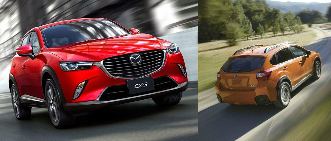 2016 Mazda CX-3 vs 2016 Subaru Crosstrek