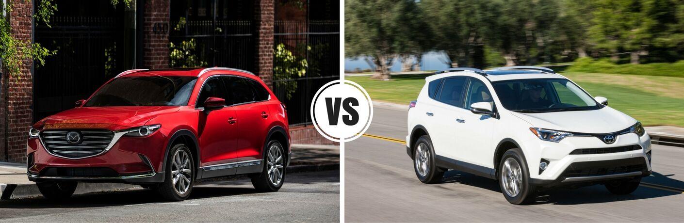 2016 Mazda CX-9 vs 2017 Toyota RAV4