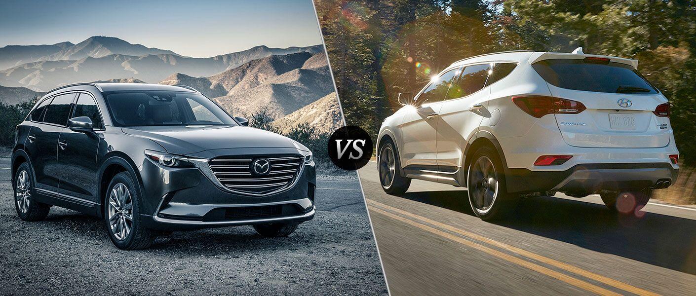 2016 Mazda CX-9 vs 2016 Hyundai Santa Fe