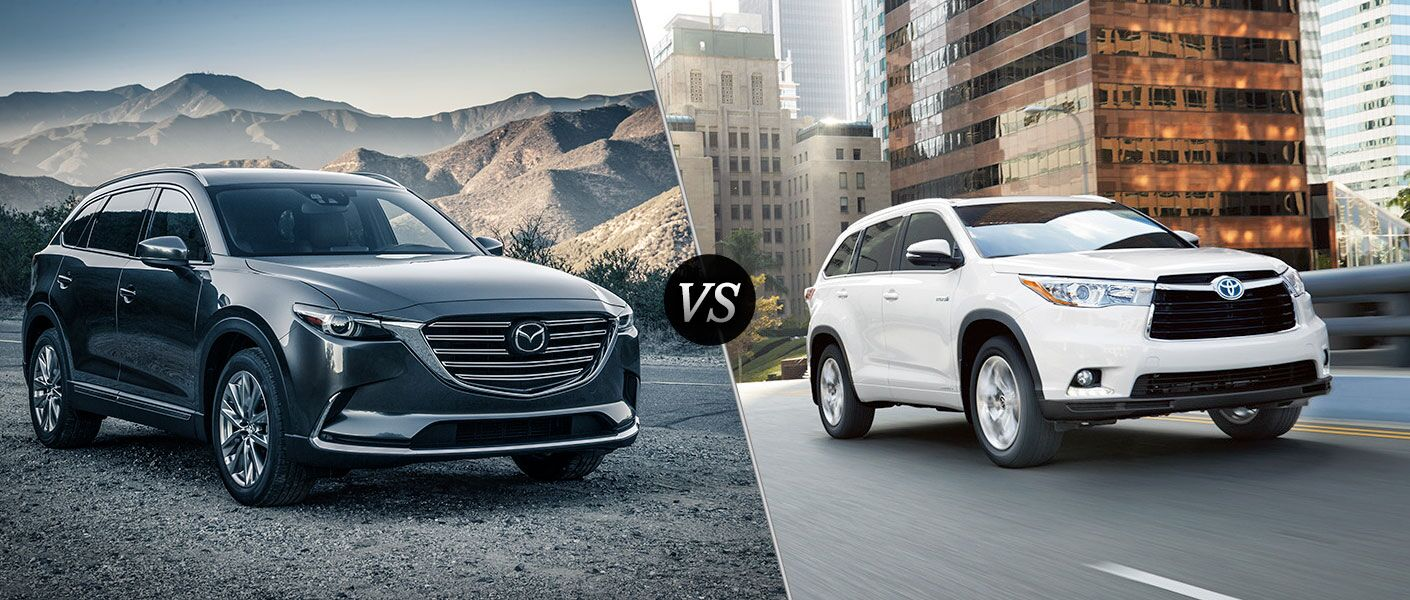 2016 Mazda CX-9 vs 2016 Toyota Highlander