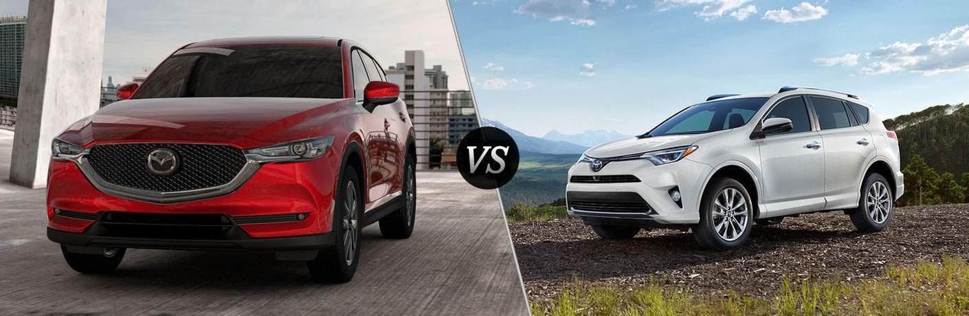 2017 Mazda CX-5 vs 2017 Toyota RAV4