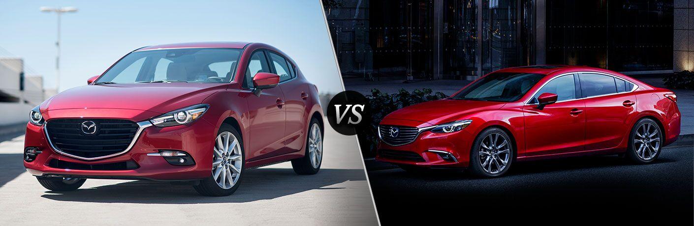 2017 Mazda3 vs 2017 Mazda6