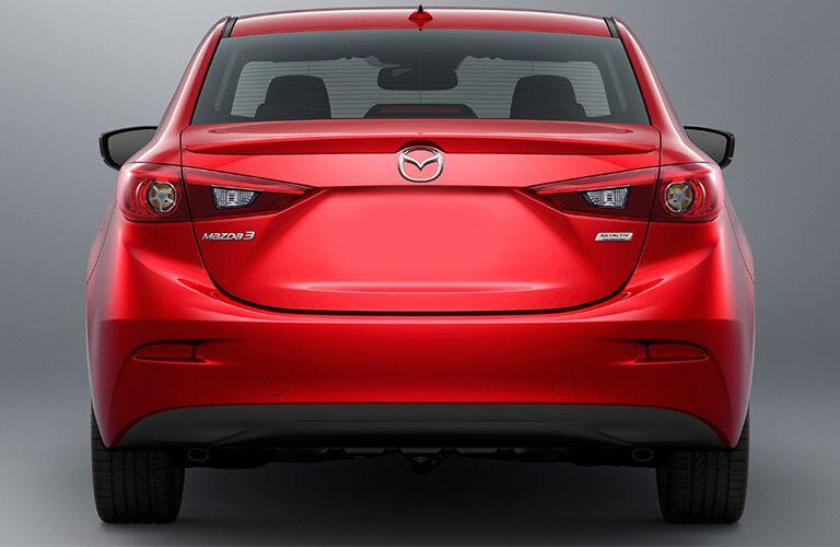 2018 Mazda3 exterior back fascia