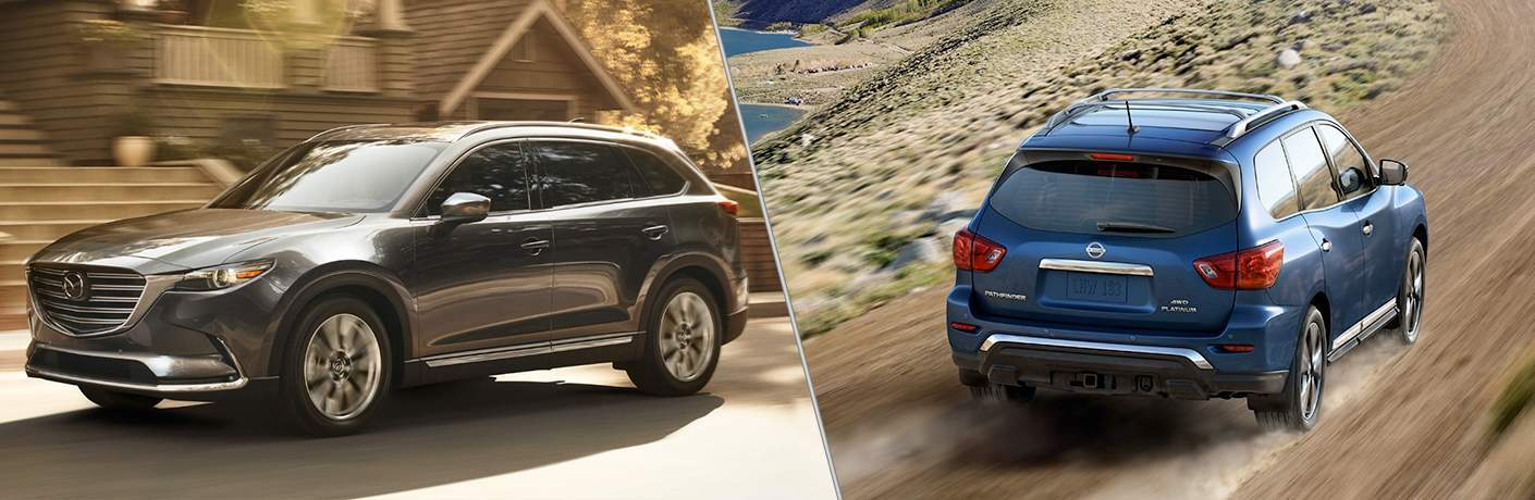 2018 Mazda CX-9 vs 2018 Nissan Pathfinder