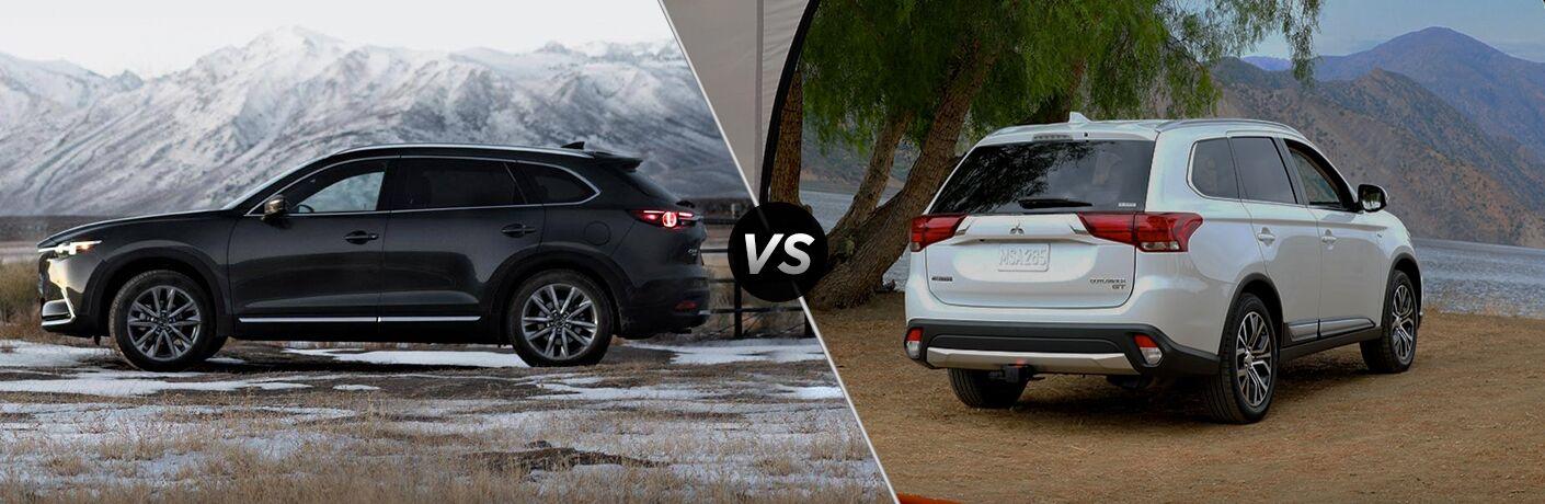2019 Mazda CX-9 vs 2019 Mitsubishi Outlander
