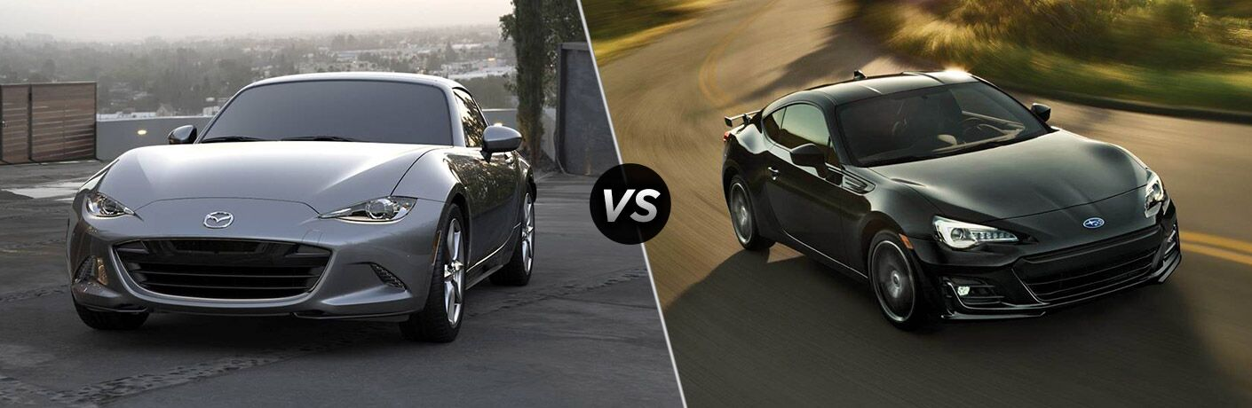 2019 Mazda MX-5 Miata RF vs 2019 Subaru BRZ