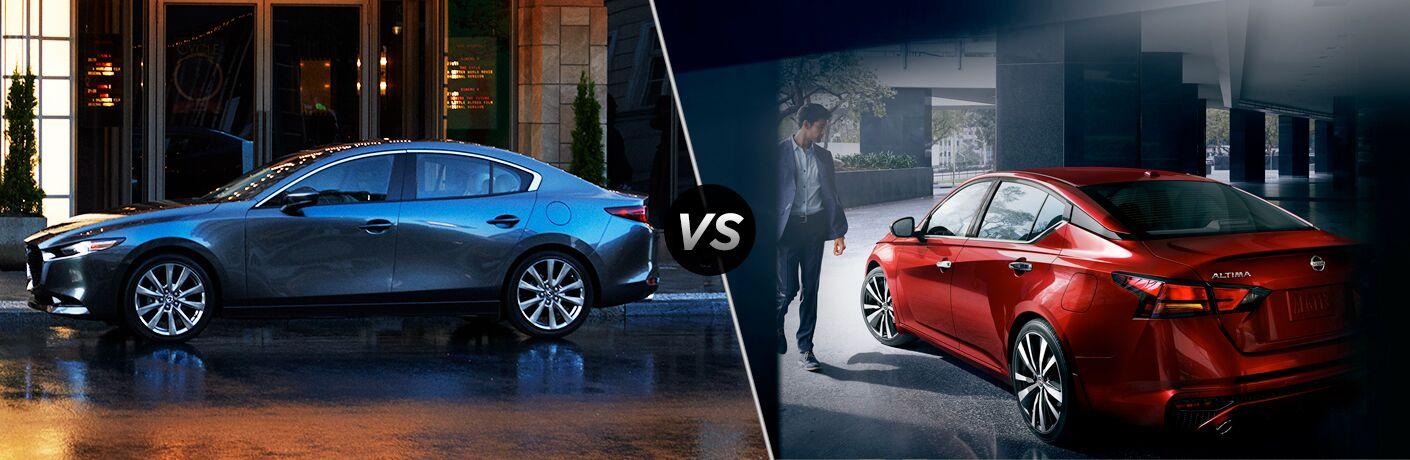 2019 Mazda3 vs 2019 Nissan Altima