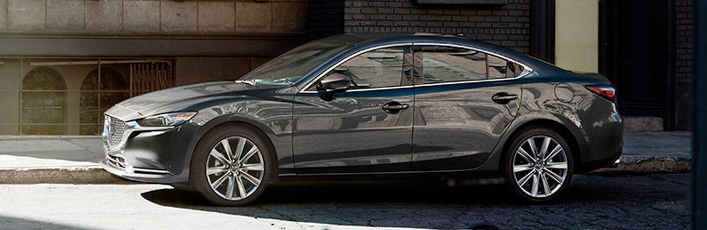2020 Mazda6 parked on a city street