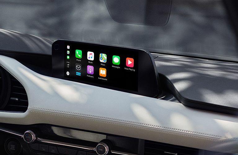 2020 Mazda3 Sedan infotainment system