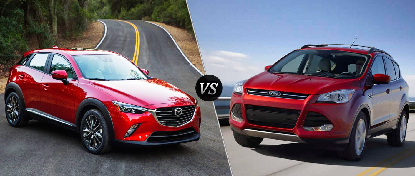 2016 Mazda CX-3 vs 2016 Ford Escape comparison