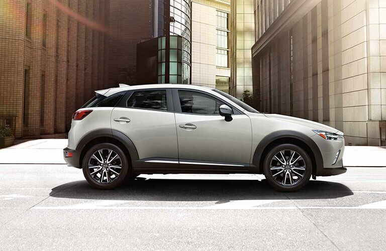 Sleek exterior defines 2017 Mazda CX-3 vs. Subaru crosstrek