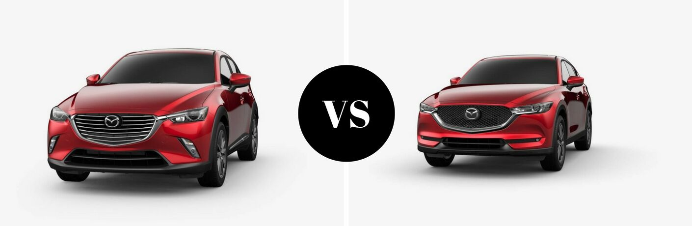 Mazda CX-3 Vs the Mazda CX-5