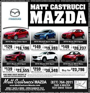January Mazda Deals