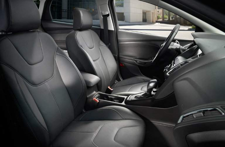 2017 Ford Focus interior view of front seats