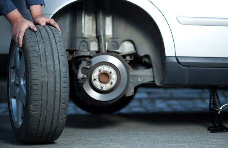 Use the service technicians at Serra Mazda in Trussville for your tire repair.