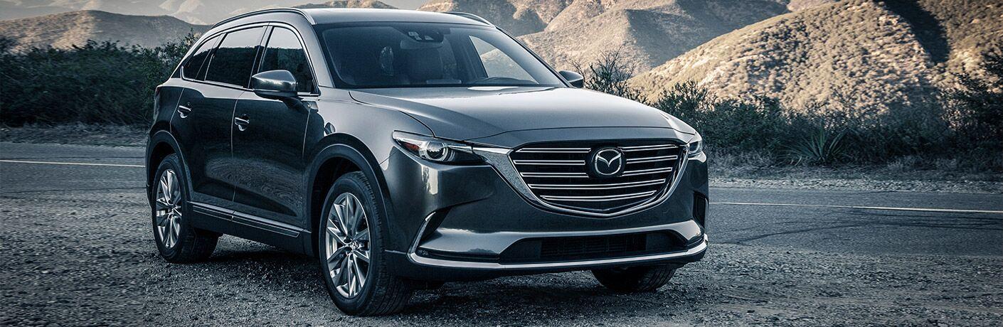 Grey 2016 Mazda CX-9