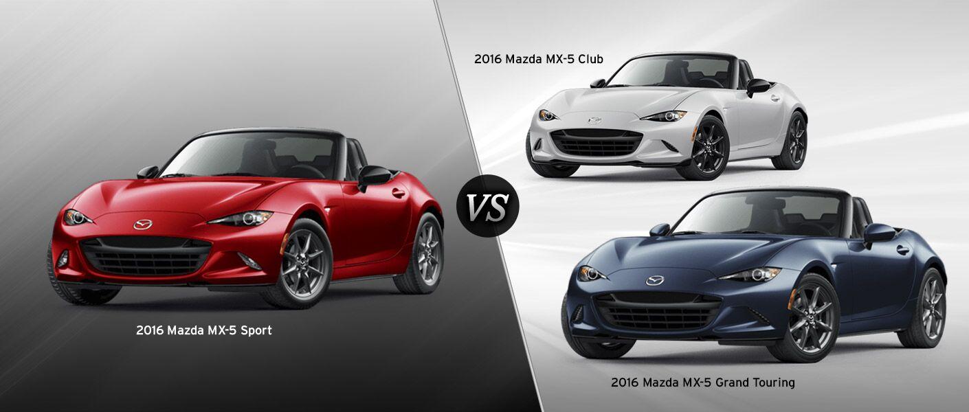 Mazda Miata Club Vs Grand Touring Car Reviews