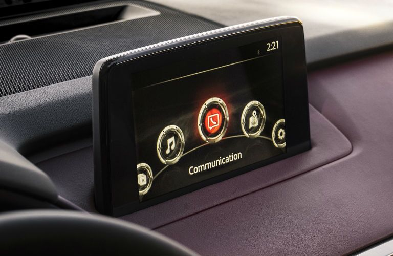 Infotainment center in 2016 Mazda CX-9