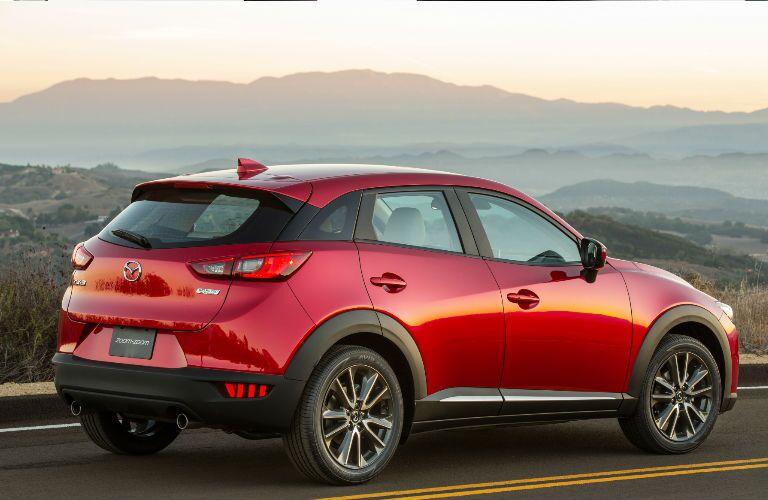 Red 2016 Mazda CX-3