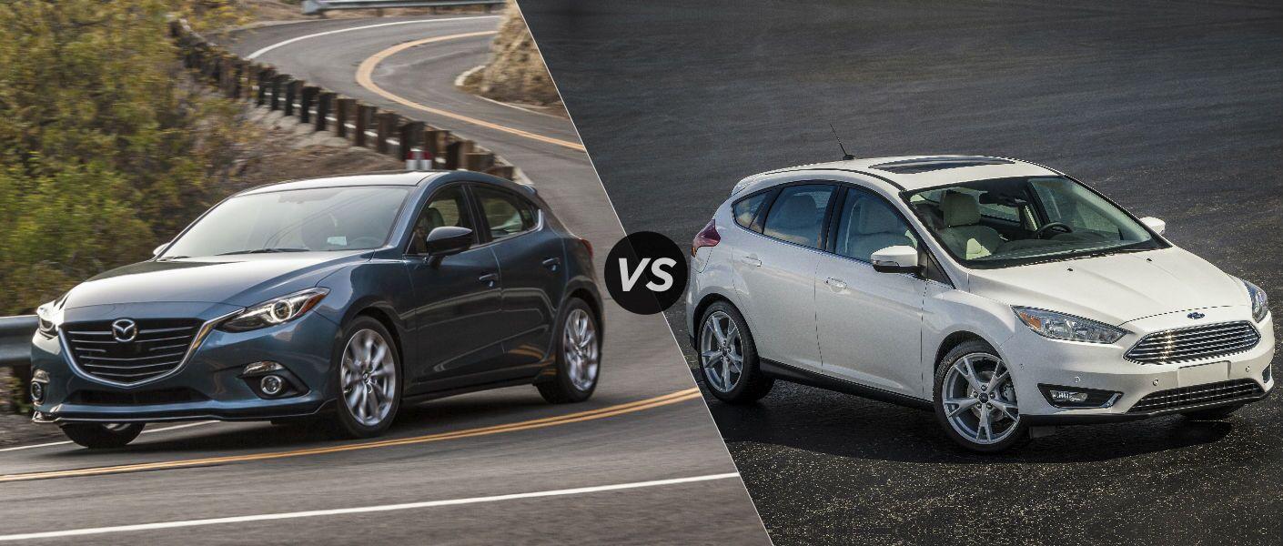 2016 Mazda 3 Hatchback Vs 2016 Ford Focus Hatchback