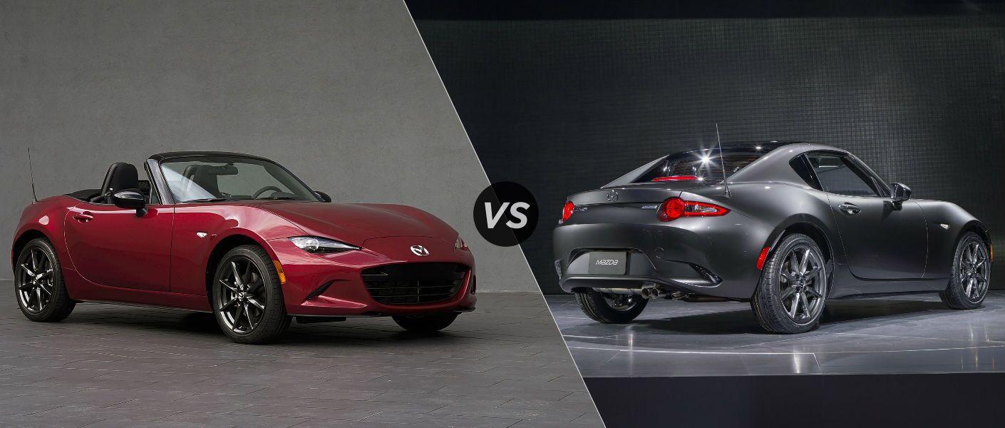2016 Mazda MX-5 Miata vs 2017 Mazda MX-5 Miata RF