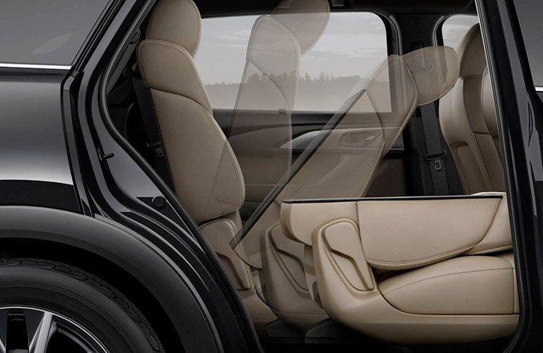 2017 Mazda CX-9 rear seats folding down
