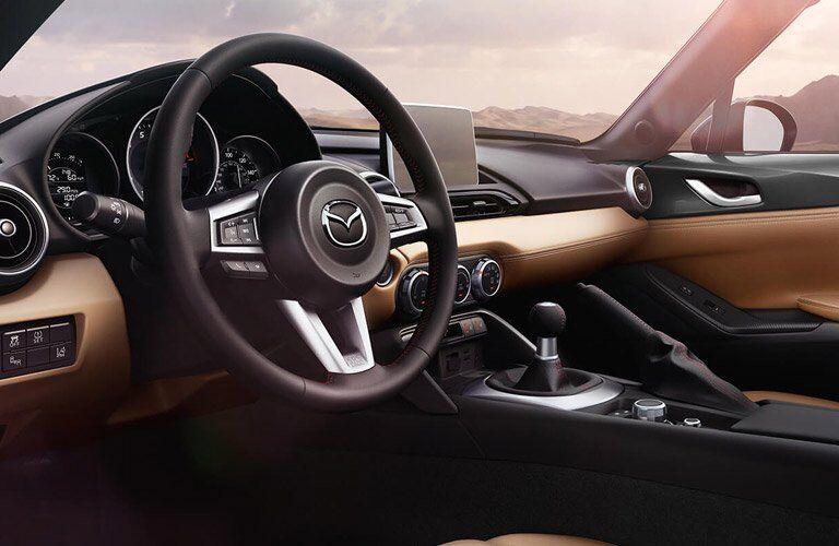 Interior view of 2017 Mazda MX-5 Miata