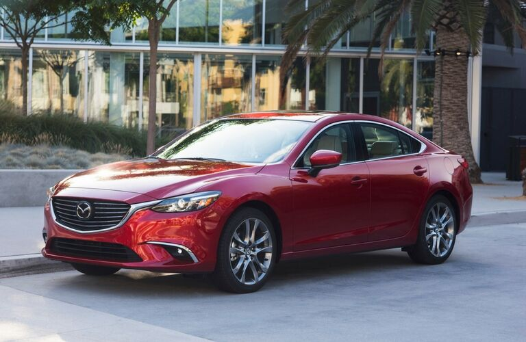 2017 Mazda6 Exterior View in Red