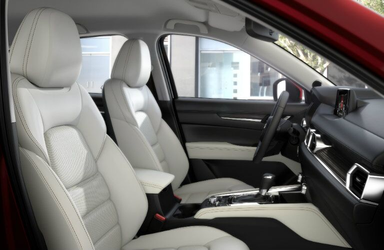 2017 Mazda CX-5 Interior View of Seating in White