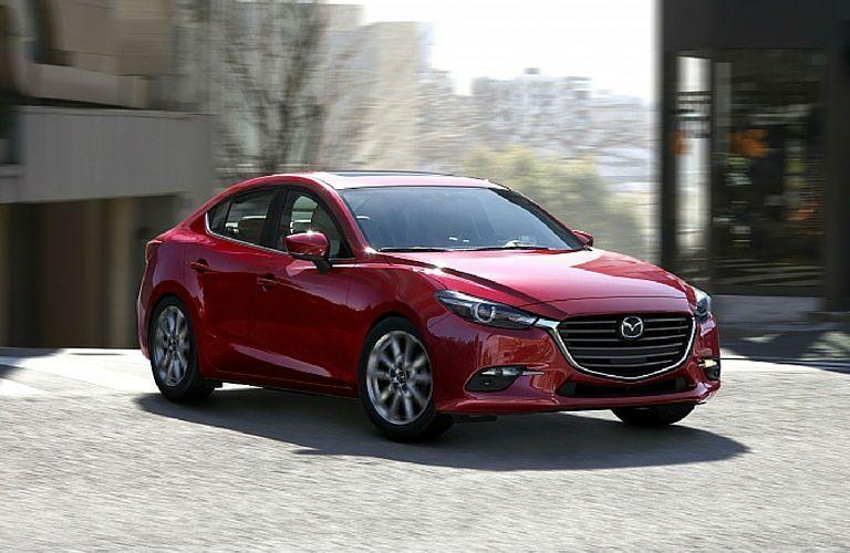 2017 Mazda3 Sport exterior color options