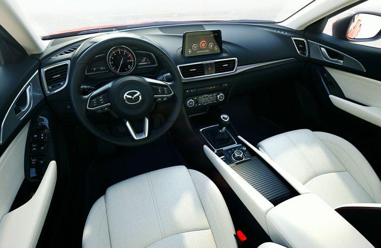2017 Mazda3 Sport standard technology features