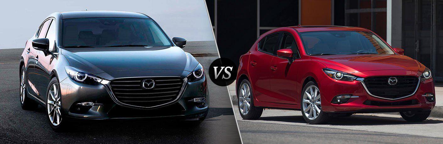 Mazda3 5 Door >> 2017 Mazda3 4 Door Vs 2017 Mazda3 5 Door