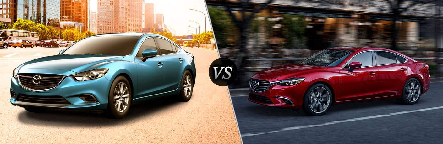 2017 mazda6 sport vs 2017 mazda6 grand touring. Black Bedroom Furniture Sets. Home Design Ideas